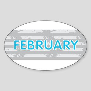 FEBRUARY Sticker
