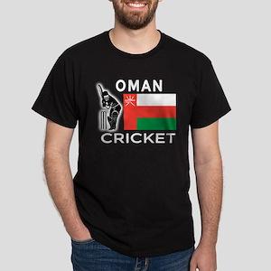 Oman Cricket Dark T-Shirt