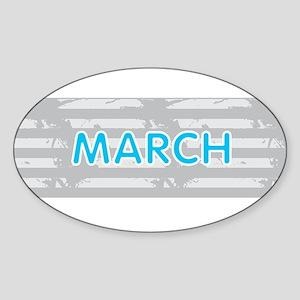 MARCH Sticker