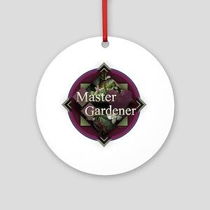 Master Gardener Round Ornament