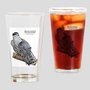 Northern Goshawk Drinking Glass