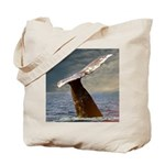 WILD SIDE WHALE Tote Bag
