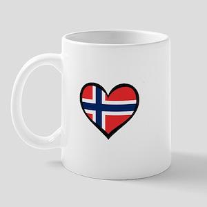 Norwegian Love Norway Mug