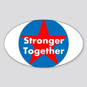 Stronger Together, Hillary 2016 Sticker