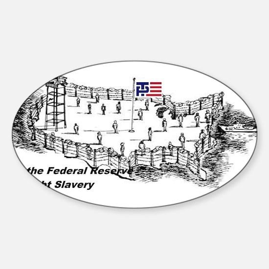 No Debt No FED Decal