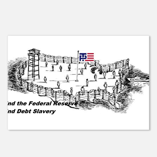 No Debt No FED Postcards (Package of 8)