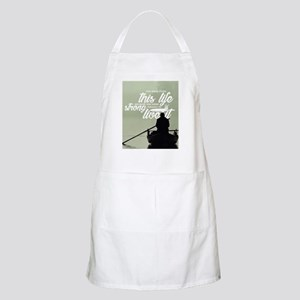 Strong Enough To Live This Life Light Apron