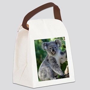 Cute cuddly koala Canvas Lunch Bag