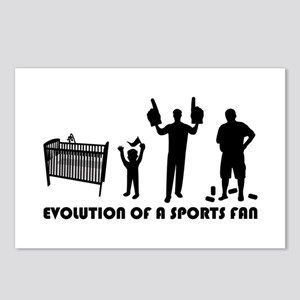 Evolution Of A Sports Fan Postcards (Package of 8)