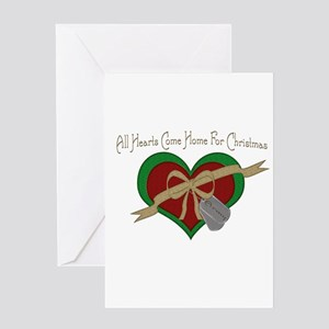 USA Heart Greeting Card