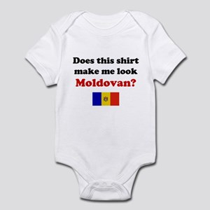 Make Me Look Moldovan Infant Bodysuit