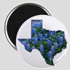 """TX Bluebonnets 2.25"""" Magnet"""