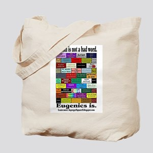 Defeat Eugenics Tote Bag