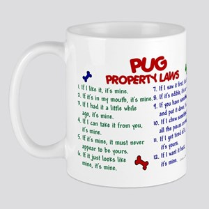 Pug Property Laws 2 Mug