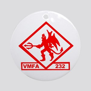 VMFA 232 Red Devils Ornament (Round)