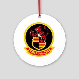 VMFA 224 Tigers Ornament (Round)