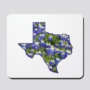 TX Bluebonnets Mousepad