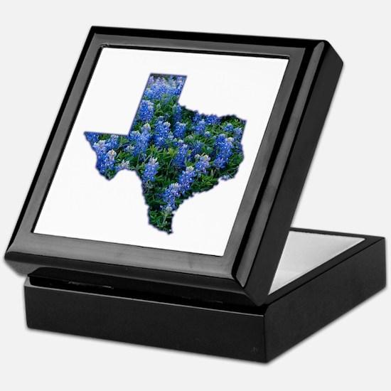TX Bluebonnets Keepsake Box