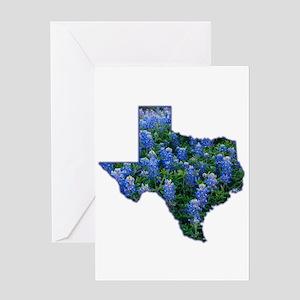TX Bluebonnets Greeting Card