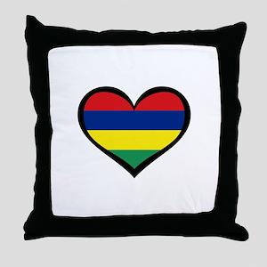 Mauritius Love Throw Pillow