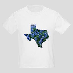 TX Bluebonnets Kids Light T-Shirt