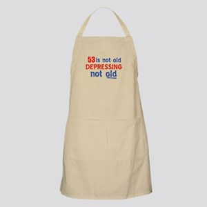 Funny 53 Years Old Birthday Designs Apron