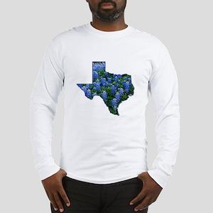 TX Bluebonnets Long Sleeve T-Shirt