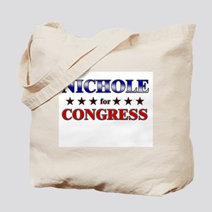 NICHOLE for congress Tote Bag