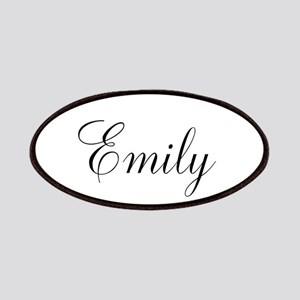Personalized Black Script Patch