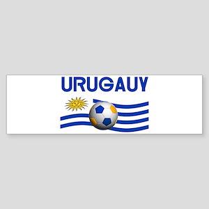 TEAM URUGUAY WORLD CUP Bumper Sticker