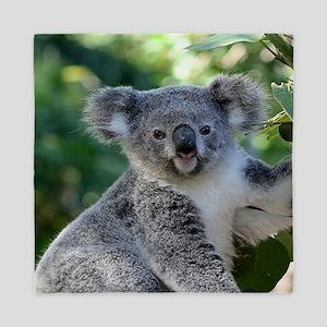 Cute cuddly koala Queen Duvet
