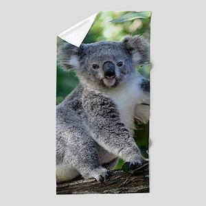 Cute cuddly koala Beach Towel