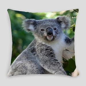 Cute cuddly koala Everyday Pillow