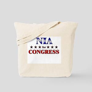 NIA for congress Tote Bag