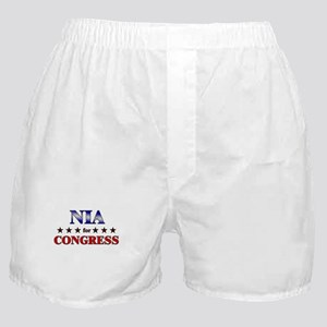 NIA for congress Boxer Shorts
