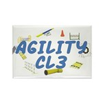 CL3 Agility Title Rectangle Magnet (100 pack)