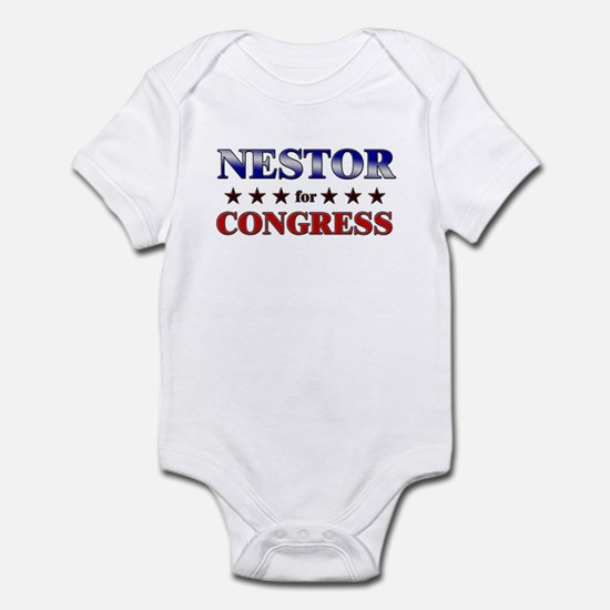 NESTOR for congress Infant Bodysuit