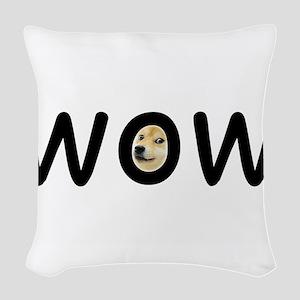 WOW Woven Throw Pillow
