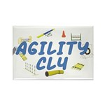 CL4 Agility Title Rectangle Magnet