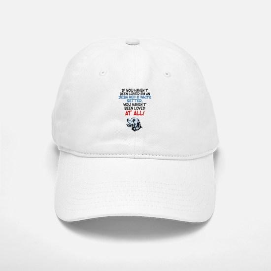 Irish Red & White Setter Baseball Baseball Cap