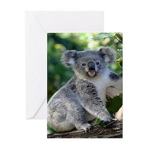 Koala greeting cards cafepress m4hsunfo