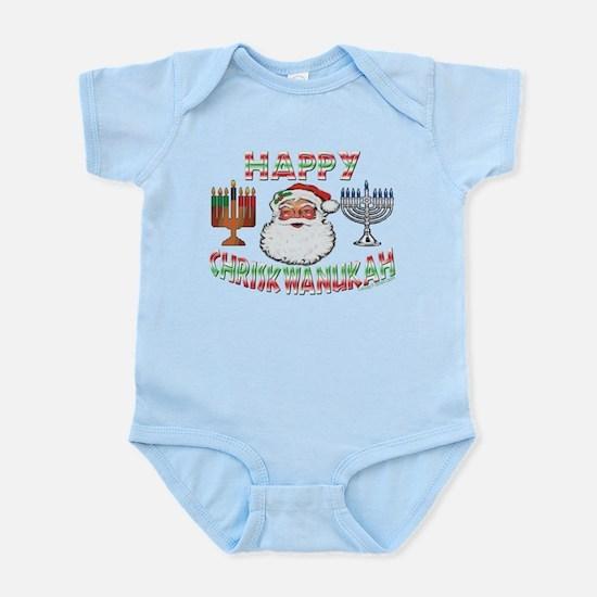 HAPPY CHRISKWANUKAH Infant Bodysuit