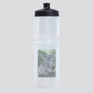 Cute cuddly koala Sports Bottle