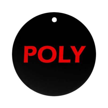 POLY Ornament (Round)