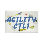 CTL1 Agility Title Rectangle Magnet (100 pack)