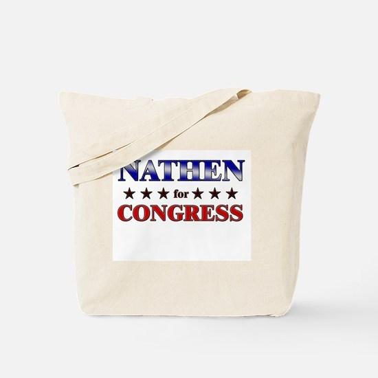 NATHEN for congress Tote Bag