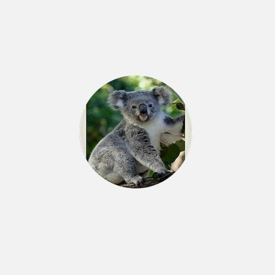 Cute cuddly koala Mini Button