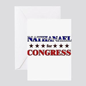 NATHANAEL for congress Greeting Card