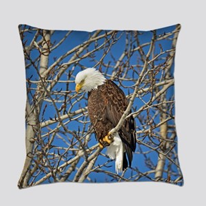Magnificent Bald Eagle Everyday Pillow