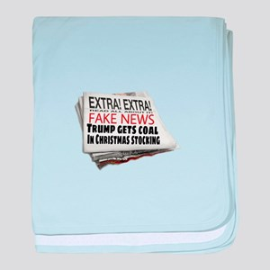 EXTRA! EXTRA! baby blanket